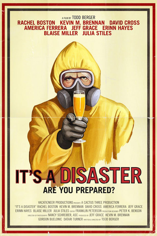 """""""It's a Disaster"""" poster"""