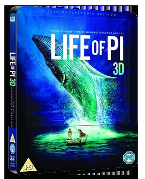 Life of Pi bluray