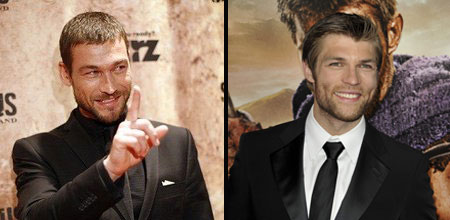 Andy Whitfield - Liam McIntyre