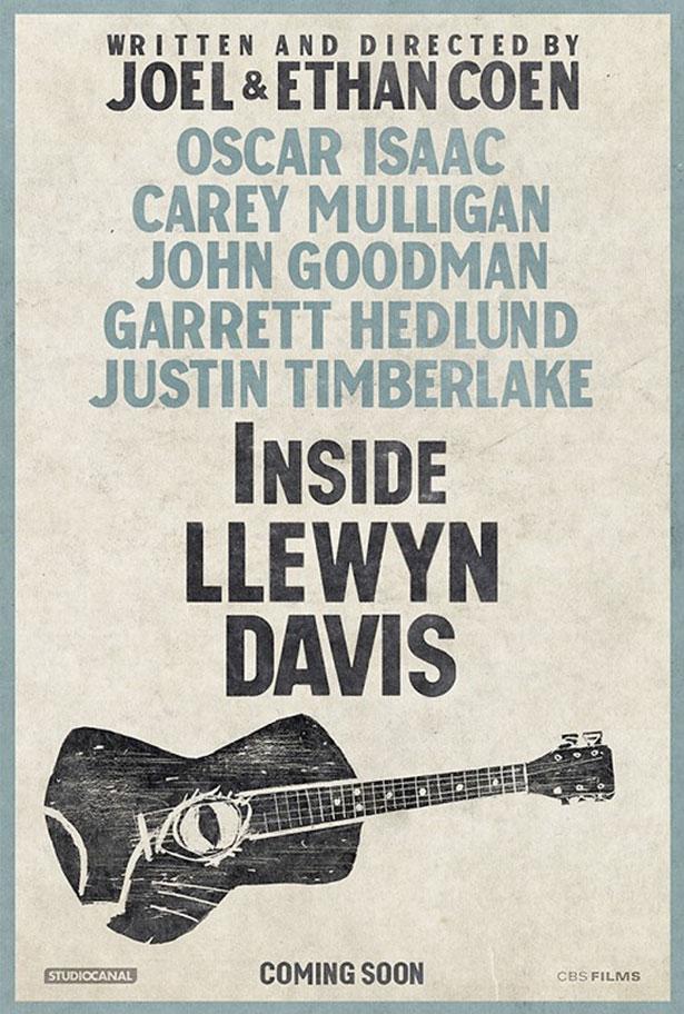 """""""Inside Llewyn Davis"""" poster"""