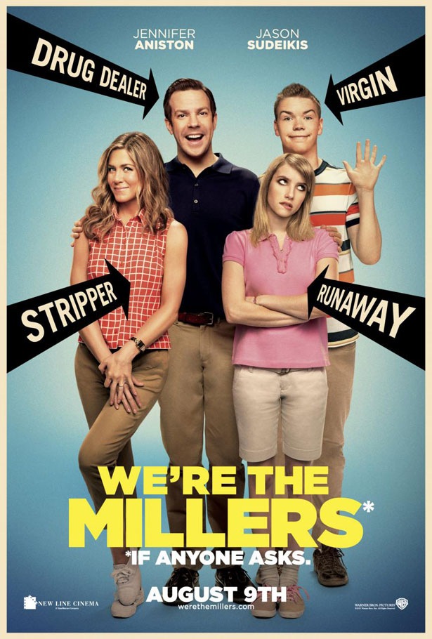 """Poster της Κωμωδίας """"We're the Millers"""""""