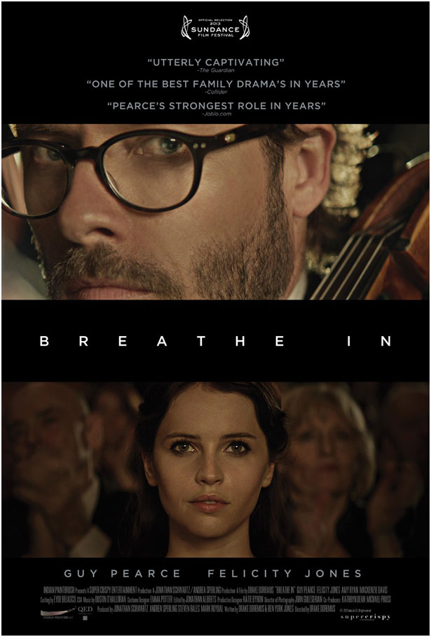 """Πρώτο Trailer του Ανεξάρτητου Δράματος, """"Breathe In"""""""