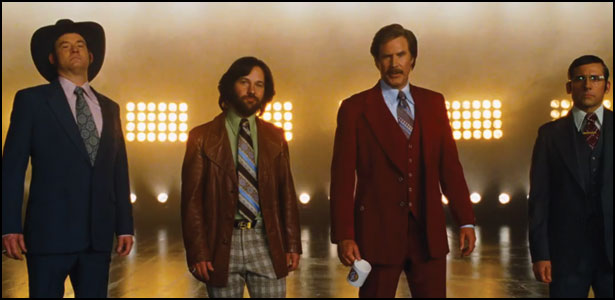"Πρώτο Trailer του ""Anchorman: The Legend Continues"""