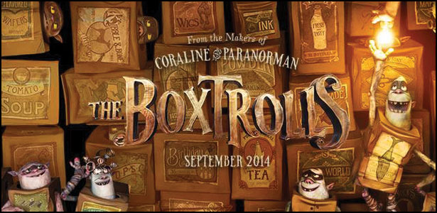 "Νέο Trailer του Animated ""The Boxtrolls"""