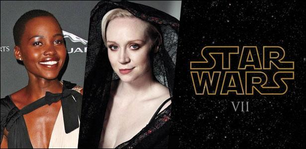 """Η Lupita Nyong'o & Η Gwendoline Christie Στο """"Star Wars VII"""""""