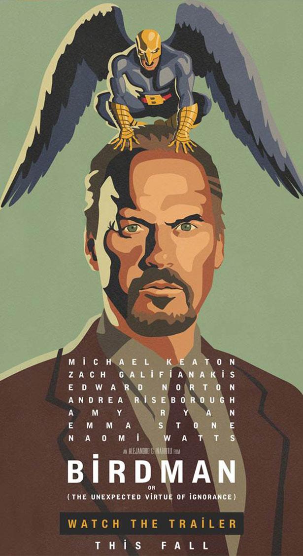 birdman-poster Alejandro G. Iñárritu