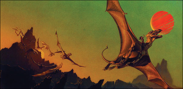 "Η Warner Απέκτησε Το ""Dragonriders of Pern"""