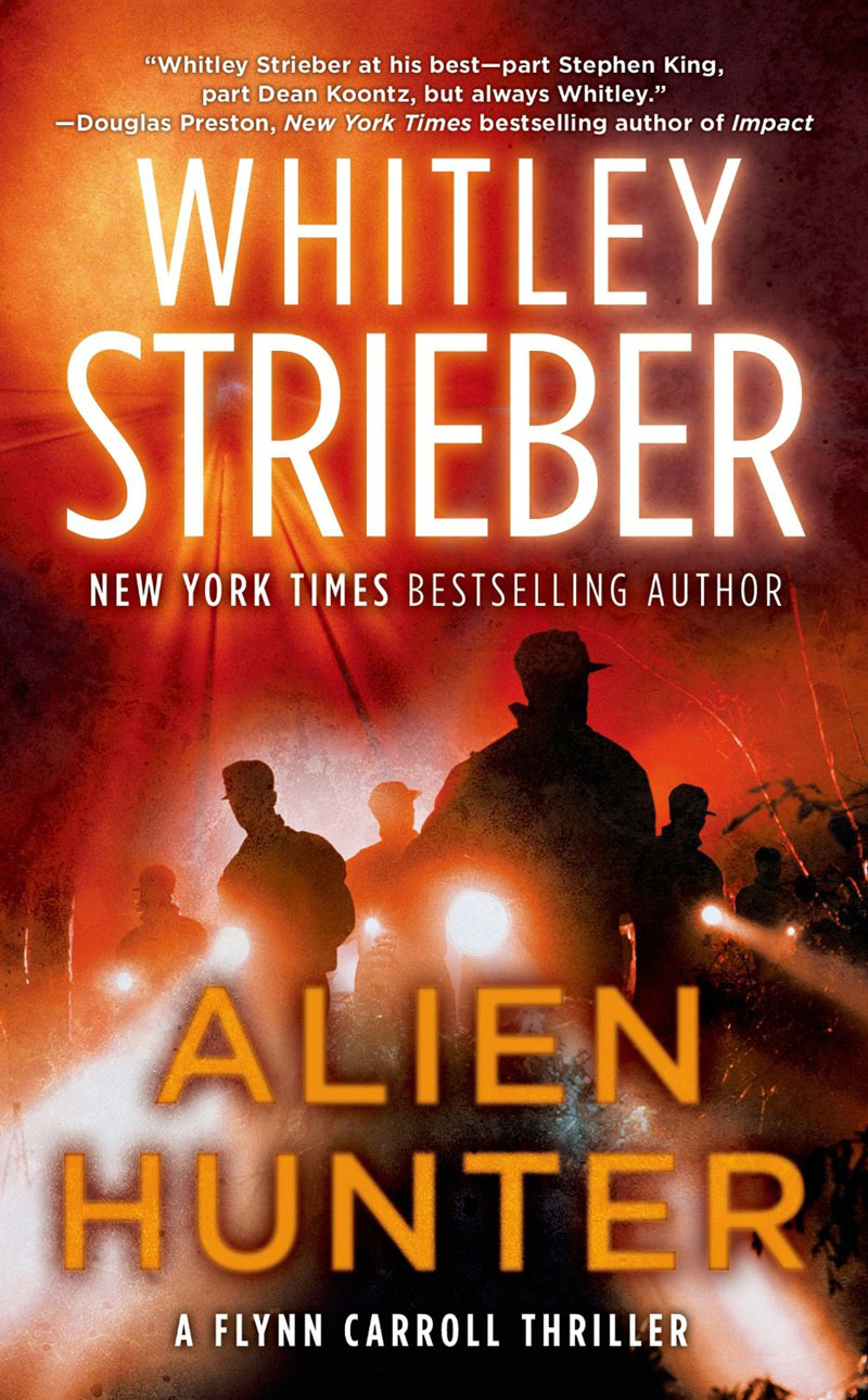 alien-hunter book