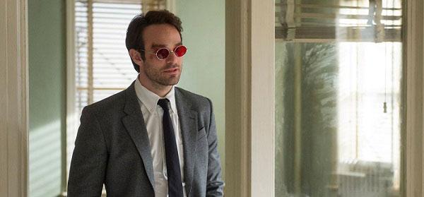 ο Charlie Cox στο ρόλο του Matt Murdock (Daredevil).