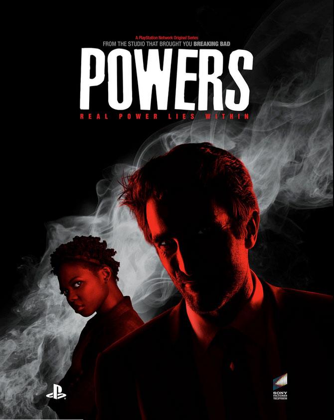 """Πρώτο Trailer Απο Την Τηλεοπτική Σειρά """"Powers"""""""