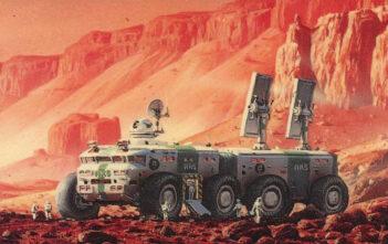 """Το Spike TV Θα Μεταφέρει Το """"Red Mars"""""""
