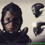 new alien movie concept art
