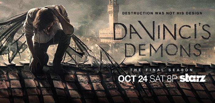 Πρώτο Trailer Απο Την 3η Σαιζόν Του «Da Vinci's Demons»
