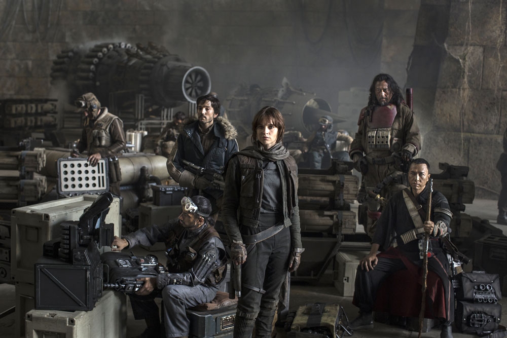 """Star Wars: Rogue One"" cast"