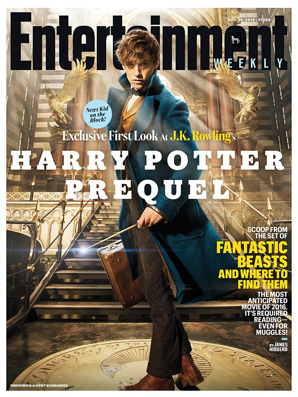fantastic-beasts-and-where-to-find-them cover Entertainment Weekly