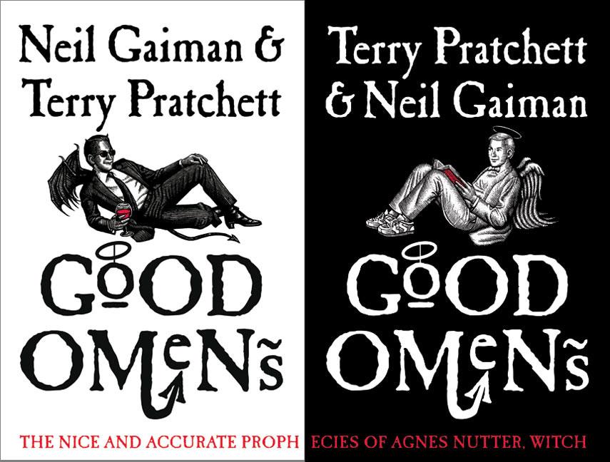 """Ο Neil Gaiman Ετοιμάζει Την Μεταφορά Του """"Good Omens"""""""