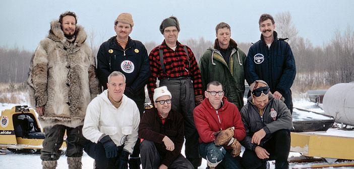 Ολα τα μέλη της αποστολής λίγο πρίν απο την αναχώρηση τους απο την  Minnesota.