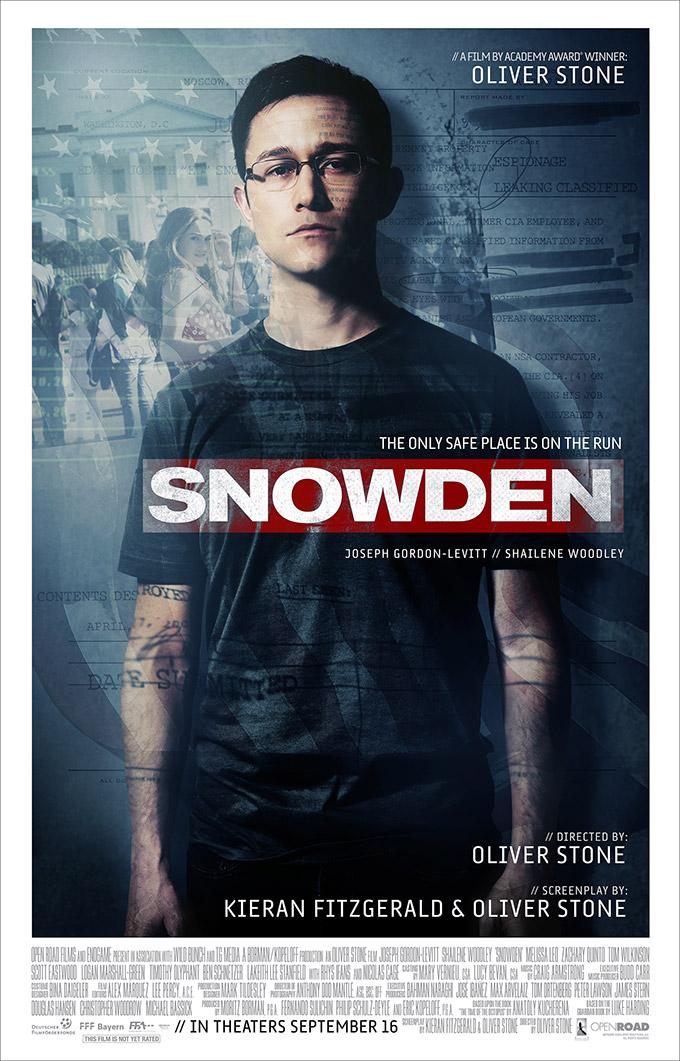 """Νέο Trailer Απο Το """"Snowden"""""""