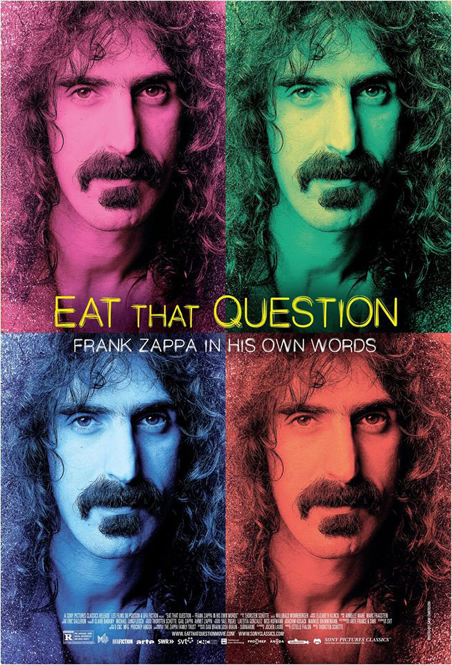 """Trailer Απο Το """"Eat That Question: Frank Zappa in His Own Words"""""""
