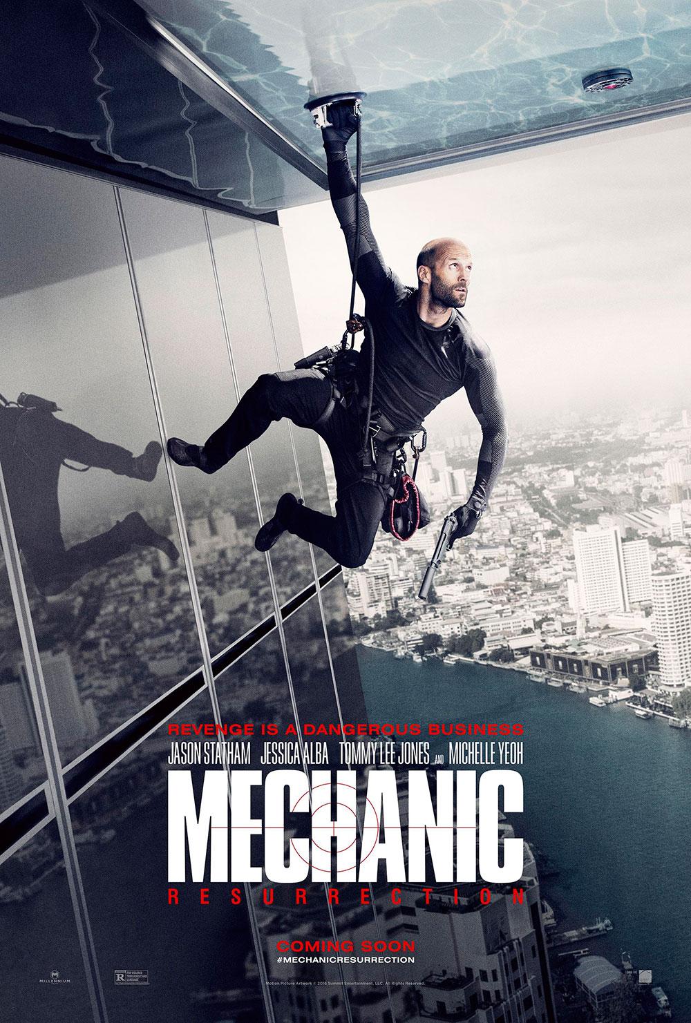 """Πρώτο Trailer Απο Το """"Mechanic: Resurrection"""""""