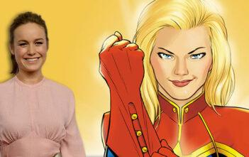 Η Brie Larson Στο Ρόλο Της Captain Marvel