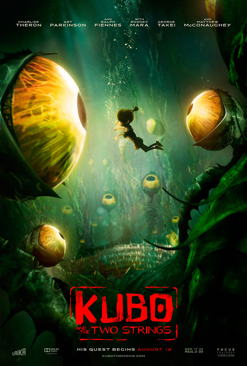 "Τρίτο Trailer Απο Το ""Kubo and the Two Strings"""