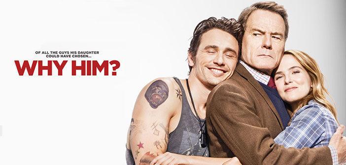 """Πρώτο Trailer Απο Το """"Why Him?"""""""