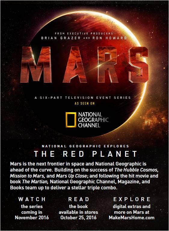 """Πρώτο Trailer Απο Την Μίνι Σειρά """"Mars"""""""