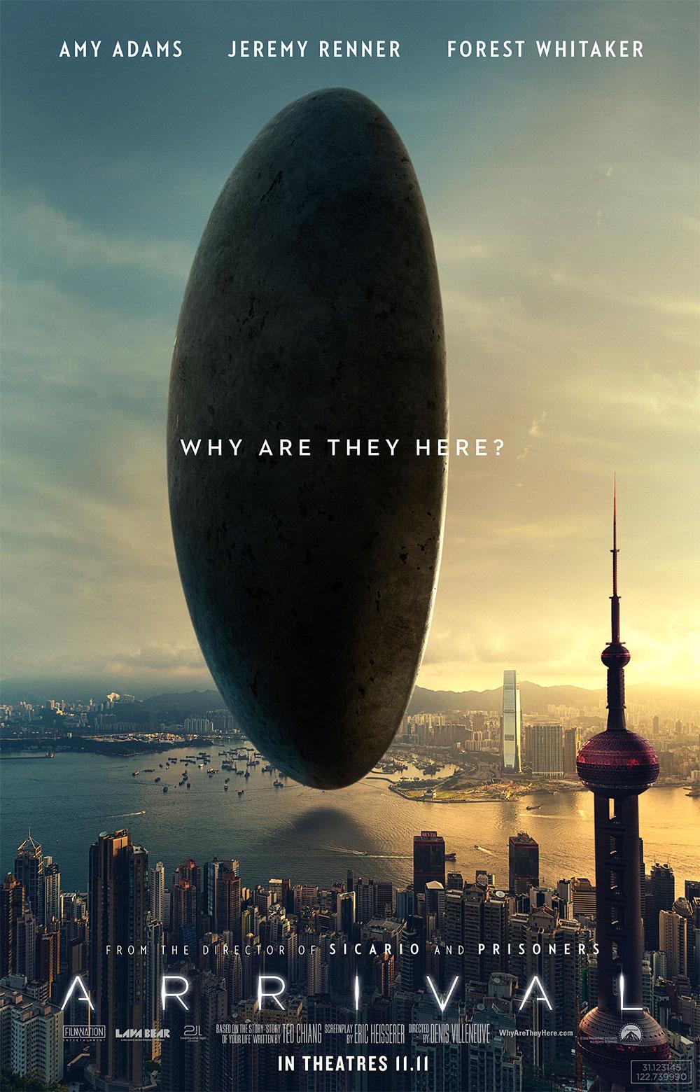 """Νέο Trailer Απο Το """"Arrival"""""""