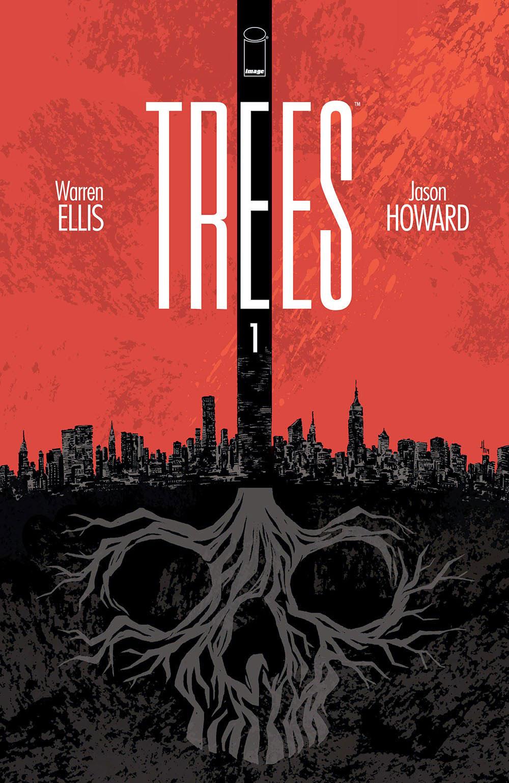 """Η NBCUniversal Απέκτησε Το Comic """"Trees"""""""