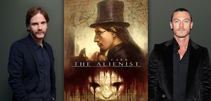 """Daniel Brühl & Luke Evans Στο """"The Alienist"""""""
