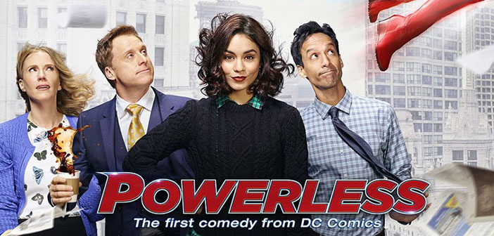 """Πρώτο Trailer Απο Το """"Powerless"""""""