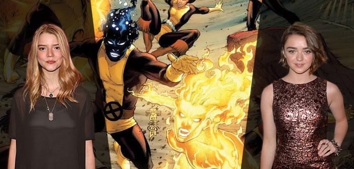"Anya Taylor-Joy & Maisie Williams Στο ""X-Men: The New Mutants"""