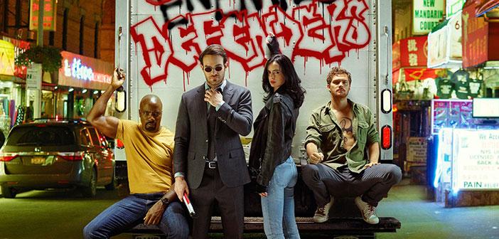 Οι Νέες Τηλεοπτικές Σειρές Του Καλοκαιριού [2017] - The Defenders