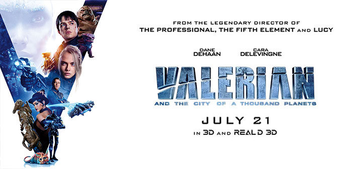 """""""Valerian and the City of a Thousand Planets"""""""