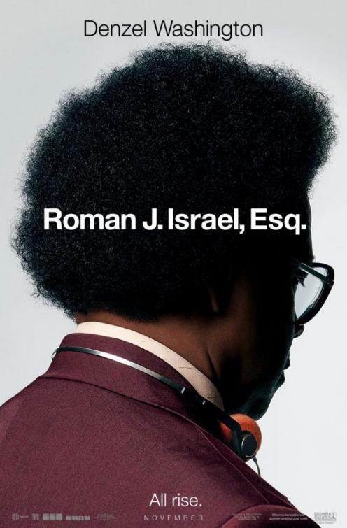 """Πρώτο Trailer Απο Το """"Roman J. Israel, Esq."""""""