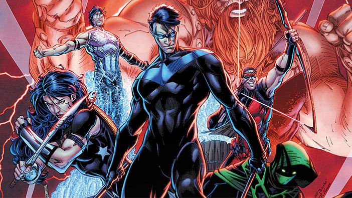 """Το """"Titans"""" Στο DC Digital Service"""