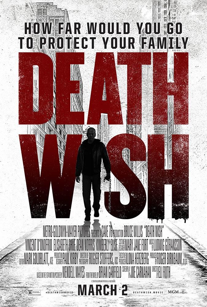 """Νέο Trailer Απο Το """"Death Wish"""""""