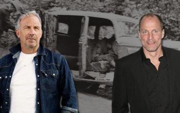 "Kevin Costner & Woody Harrelson Στο ""The Highwaymen"""