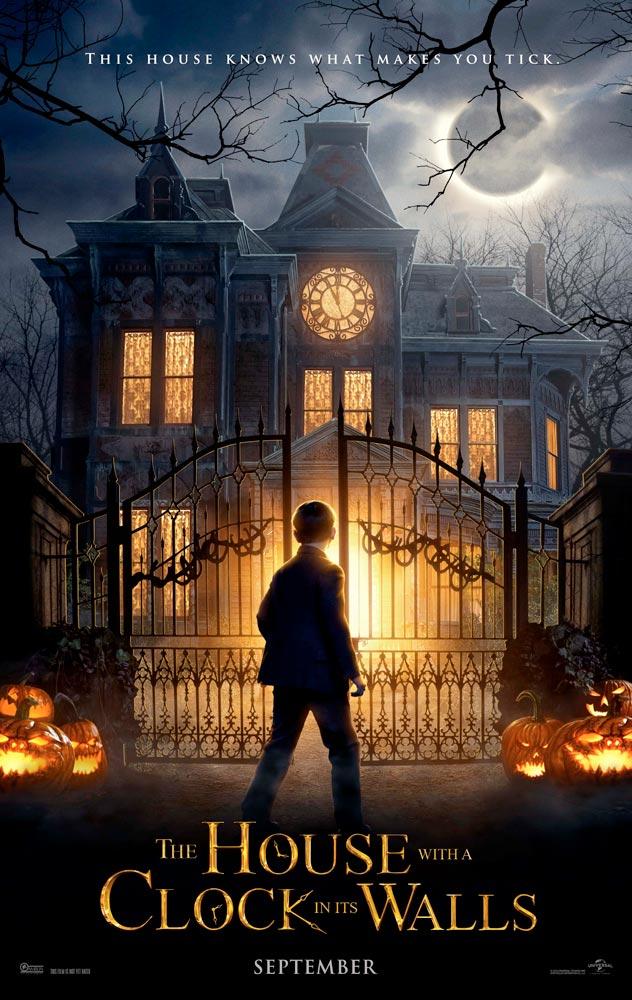 """Πρώτο Trailer Απο Το """"The House With A Clock In Its Walls"""""""
