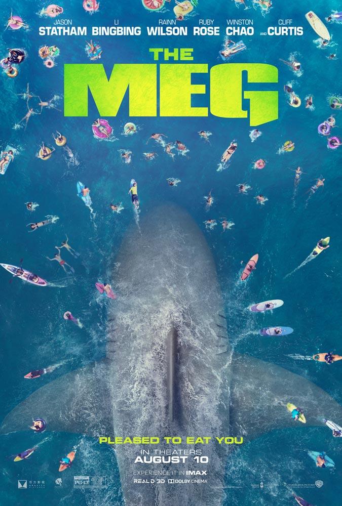"""Πρώτο Trailer Απο Το """"The Meg"""""""