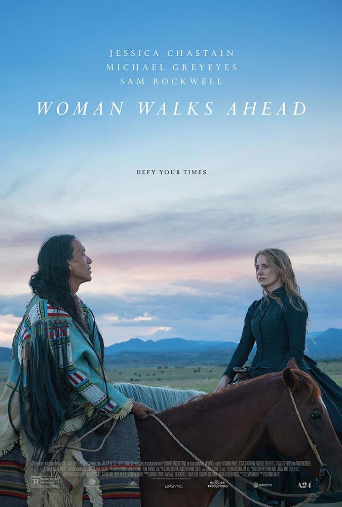 "Trailer Απο Το ""Woman Walks Ahead"""