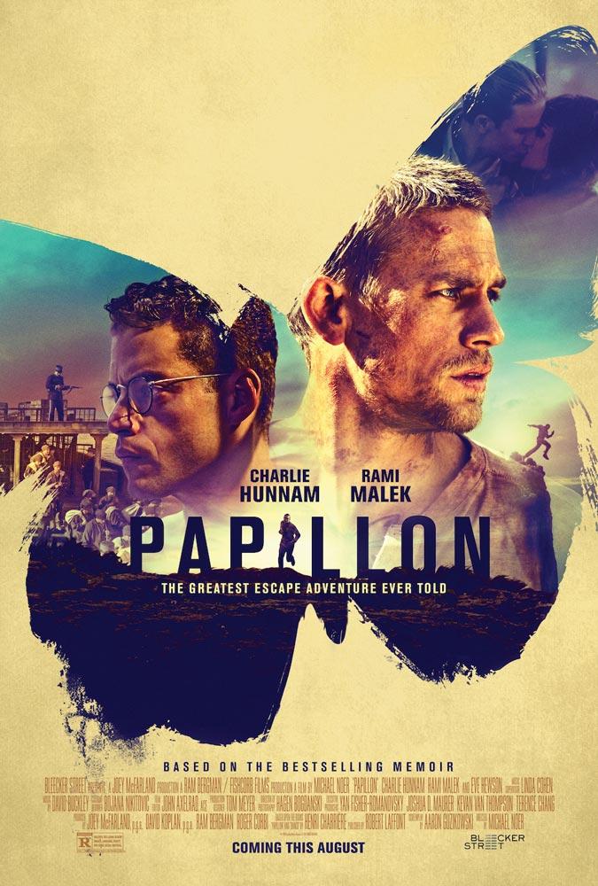 """Πρώτο Trailer Απο Το """"Papillon"""""""