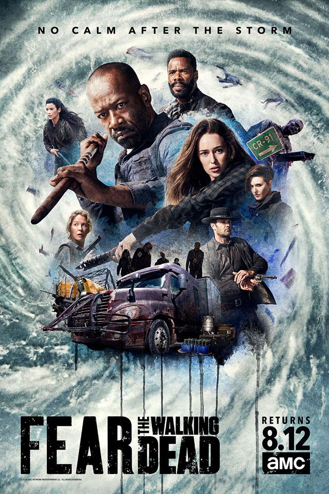 """Trailer Απο Την Συνέχεια Της 4ης Σαιζόν Του """"Fear The Walking Dead"""""""
