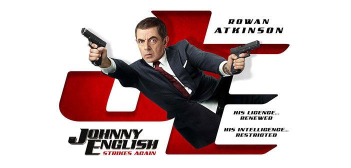 """Johnny English Strikes Again"""