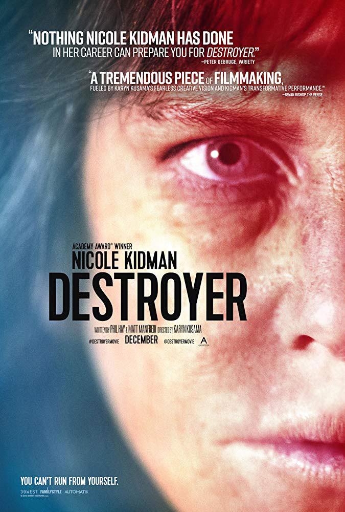 """Πρώτο Trailer Απο Το """"Destroyer"""""""