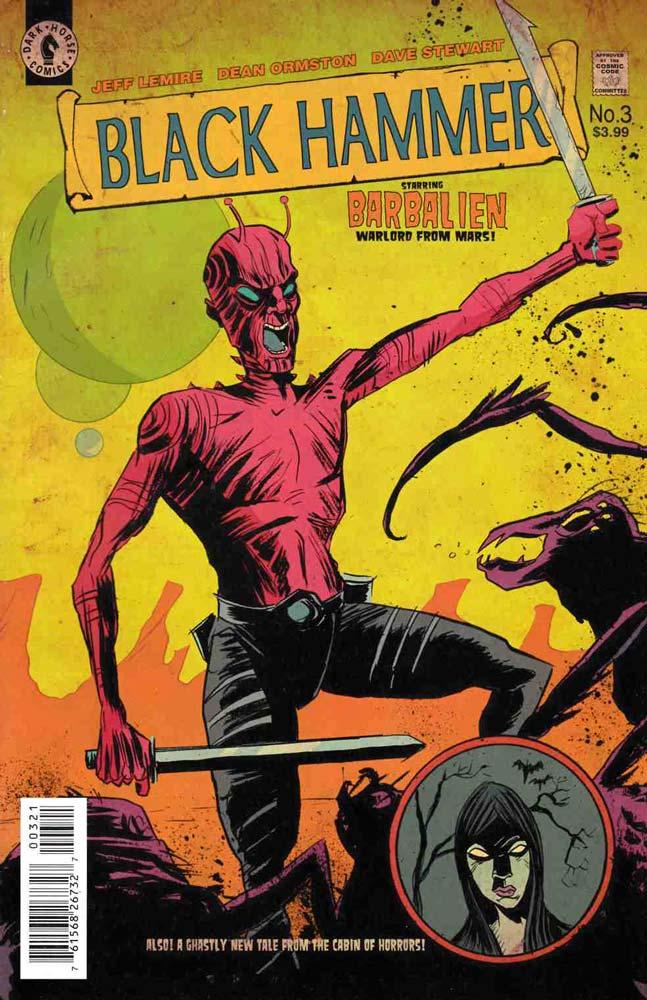 """Η Legendary Ετοιμάζει Την Μεταφορά Του Comic """"Black Hammer"""""""