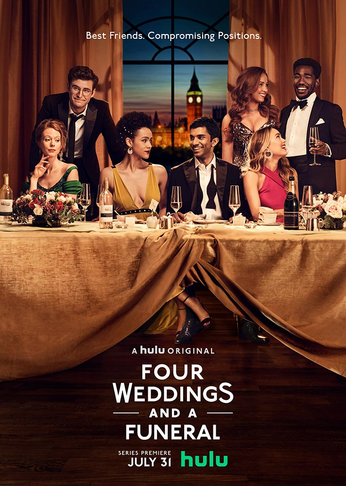 "Πρώτο Trailer Απο Το ""Four Weddings and a Funeral"" Του Hulu"