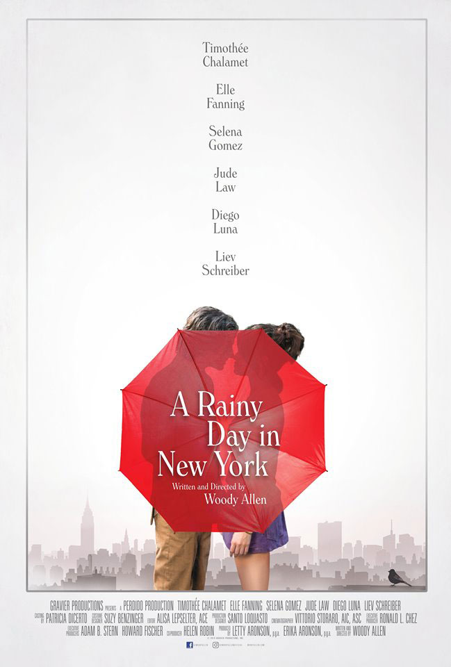 """A Rainy Day in New York"""