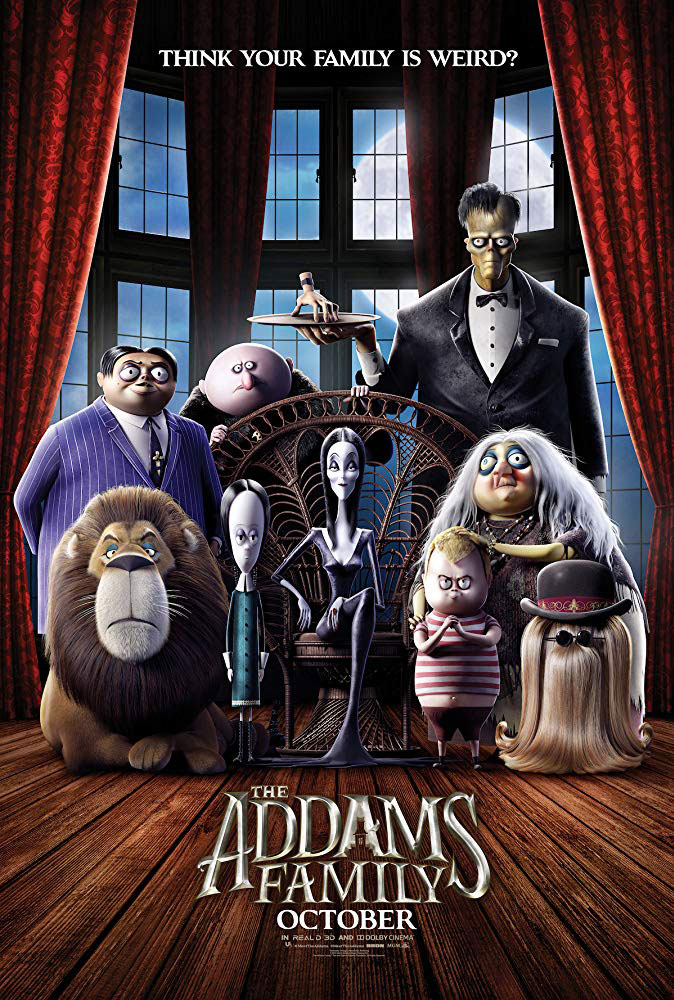 "Νέο Trailer Απο Το Animated ""The Addams Family"""